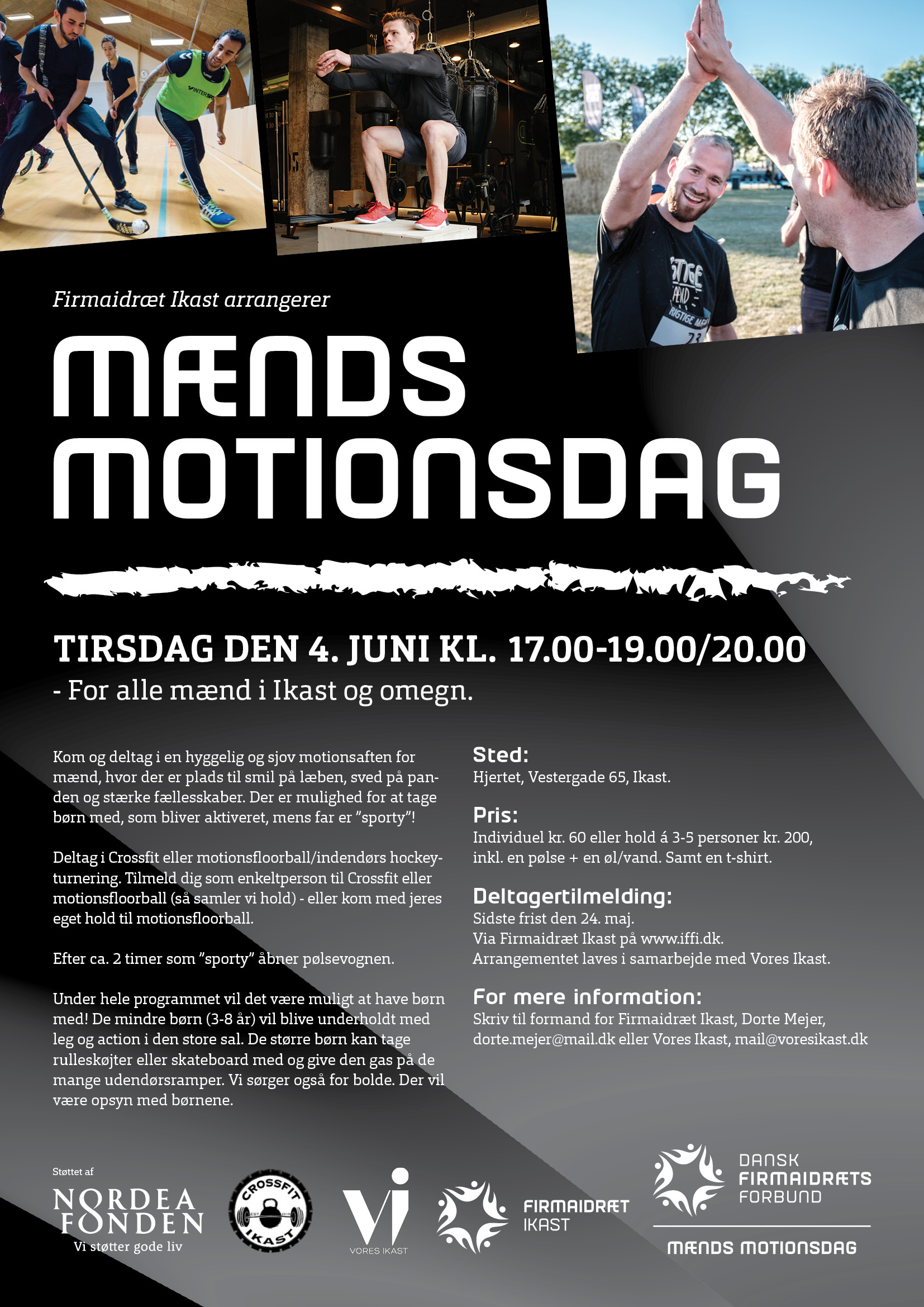 MÆNDS MOTIONSDAG - AFLYST